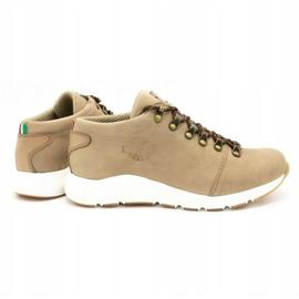 ButBal Damskie buty trekkingowe 674BB beżowe beżowy 5