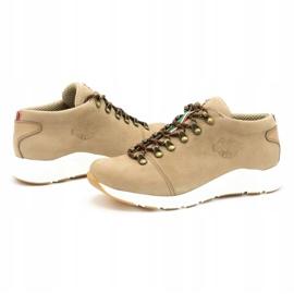 ButBal Damskie buty trekkingowe 674BB beżowe beżowy 7