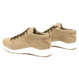 ButBal Damskie buty trekkingowe 674BB beżowe beżowy 9