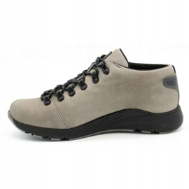 ButBal Damskie buty trekkingowe 674BB popiel wielokolorowe szare 2