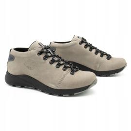 ButBal Damskie buty trekkingowe 674BB popiel wielokolorowe szare 3