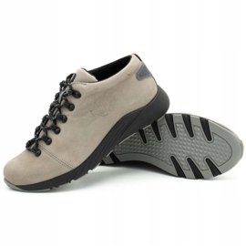 ButBal Damskie buty trekkingowe 674BB popiel wielokolorowe szare 4