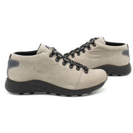 ButBal Damskie buty trekkingowe 674BB popiel wielokolorowe szare 6