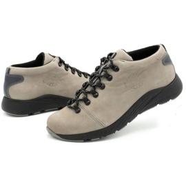 ButBal Damskie buty trekkingowe 674BB popiel wielokolorowe szare 7