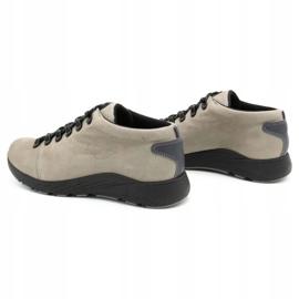 ButBal Damskie buty trekkingowe 674BB popiel wielokolorowe szare 8