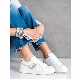 SHELOVET Casualowe Białe Buty Sportowe 3