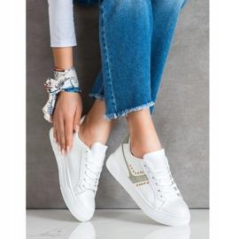 SHELOVET Casualowe Białe Buty Sportowe 1