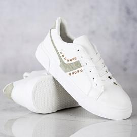 SHELOVET Casualowe Białe Buty Sportowe 2