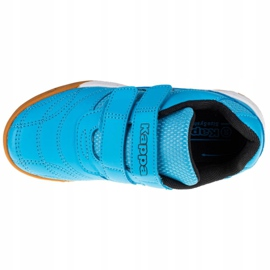 Buty Kappa Kickoff K 260509K-6211 czarne niebieskie 2