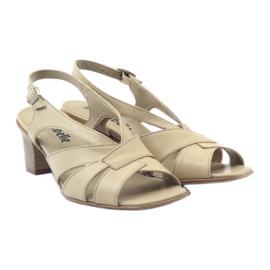Sandały damskie Anabelle 152 beżowe beżowy 4