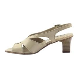 Sandały damskie Anabelle 152 beżowe beżowy 2