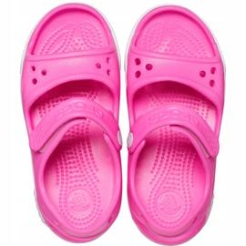 Crocs sandały dla dzieci Crocband Ii Sandal różowe 14854 6QQ 1