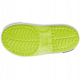Crocs sandały dla dzieci Crocband Ii Sandal limonkowo-czarne 14854 3T3 zielone 3