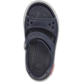 Crocs sandały dla dzieci Crocband Ii Sandal granatowo-białe 14854 462 granatowe 1