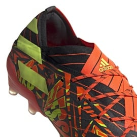 Buty piłkarskie adidas Nemeziz Messi.1 Fg M FW7323 granatowy, wielokolorowy wielokolorowe 3