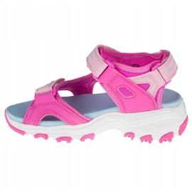 Sandały Skechers D'Lites Jr 664133L-HPMT różowe 1