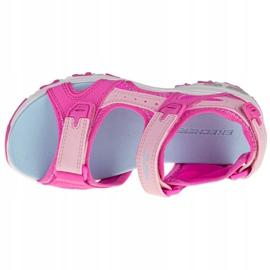 Sandały Skechers D'Lites Jr 664133L-HPMT różowe 2