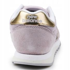 Buty New Balance W WL520GDC różowe złoty 5