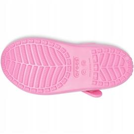 Crocs sandały dla dzieci Classic Cross Strap Charm różowe 206947 669 3