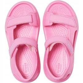 Crocs sandały dla dzieci Swiftwater Expedition różowe 206267 6M3 1