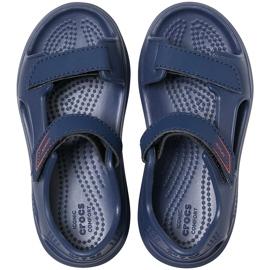 Crocs sandały dla dzieci Swiftwater Expedition granatowe 206267 463 1