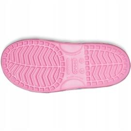 Crocs sandały dla dzieci Fun Lab Rainbow różowe 206795 669 3