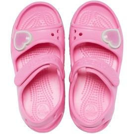 Crocs sandały dla dzieci Fun Lab Rainbow różowe 206795 669 1