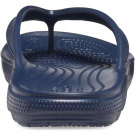 Crocs klapki Classic Ii Flip granatowe 206119 410 2