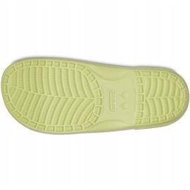 Crocs klapki Classic żółte 206761 3U4 zielone 3