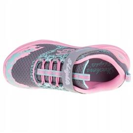 Buty Skechers Twisty Brights W 302301L-GYPK różowe szare 2