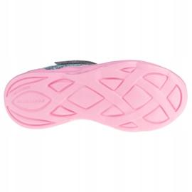 Buty Skechers Twisty Brights W 302301L-GYPK różowe szare 3