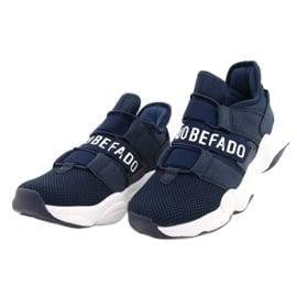 Befado obuwie dziecięce  516Y065 granatowe 2