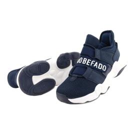 Befado obuwie dziecięce  516Y065 granatowe 3