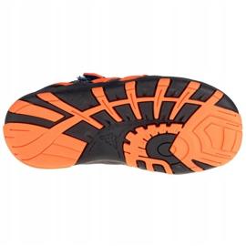 Sandały Kappa Reminder K 260682K-6744 czarne granatowe 3