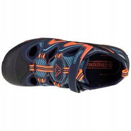 Sandały Kappa Reminder T W 260682T-6744 granatowe pomarańczowe wielokolorowe 2
