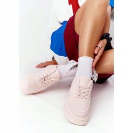 PS1 Damskie Sportowe Buty Na Platformie Różowe This Is Me 4