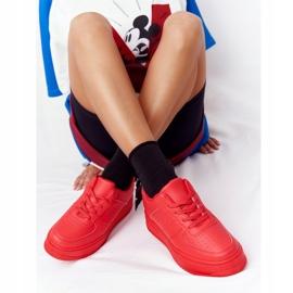 PS1 Damskie Sportowe Buty Na Platformie Czerwone This Is Me 6