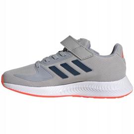 Buty adidas Runfalcon 2.0 Jr FZ0115 szare 1