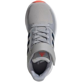 Buty adidas Runfalcon 2.0 Jr FZ0115 szare 2