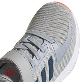 Buty adidas Runfalcon 2.0 Jr FZ0115 szare 3