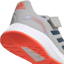 Buty adidas Runfalcon 2.0 Jr FZ0115 szare 4