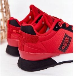 Dziecięce Sportowe Buty Memory Foam Big Star HH374173 Czerwone 3