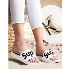 Seastar Gumowe Klapki Super białe 4