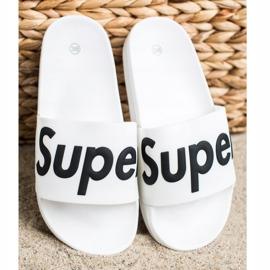 Seastar Gumowe Klapki Super białe 2