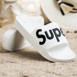 Seastar Gumowe Klapki Super białe 3