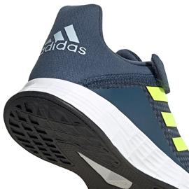 Buty dla dzieci adidas Duramo Sl C granatowe FY9167 4