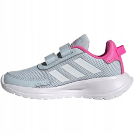 Buty dla dzieci adidas Tensaur Run C szaro-różowe FY9197 szare 2