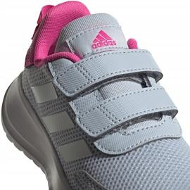 Buty dla dzieci adidas Tensaur Run C szaro-różowe FY9197 szare 4