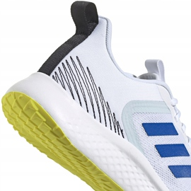 Buty męskie adidas Fluidstreet białe FY8459 4