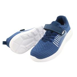 Befado obuwie dziecięce  516Y063 niebieskie 3
